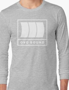 Ovo Sound Logo Funny Geek Nerd Long Sleeve T-Shirt