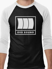 Ovo Sound Logo Funny Geek Nerd Men's Baseball ¾ T-Shirt