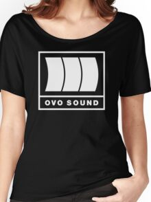 Ovo Sound Logo Funny Geek Nerd Women's Relaxed Fit T-Shirt