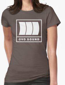 Ovo Sound Logo Funny Geek Nerd Womens Fitted T-Shirt