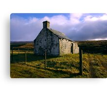 Ruin in the Dales #3 Canvas Print