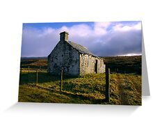 Ruin in the Dales #3 Greeting Card