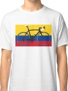 Bike Flag Colombia (Big - Highlight) Classic T-Shirt