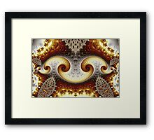 Bow Spiral Chain Framed Print