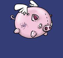 the flying pig Unisex T-Shirt