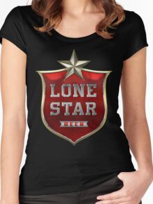 Lone Star Beer Women's Fitted Scoop T-Shirt