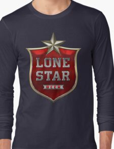 Lone Star Beer Long Sleeve T-Shirt