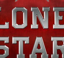 Lone Star Beer Sticker