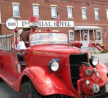 !934 fire truck by megrag53