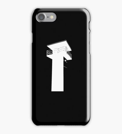 The Walking Dead - The Tower (White) iPhone Case/Skin