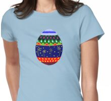 African Style Easter Egg Womens Fitted T-Shirt