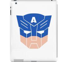 Captain America in Transformers iPad Case/Skin