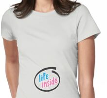life inside Womens Fitted T-Shirt