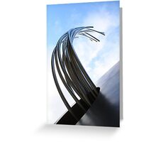 the limit is sky Greeting Card