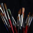 A brush with art by Jeremy Owen