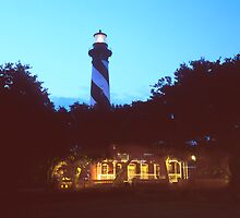 St Augustine Lighthouse by Roger Otto