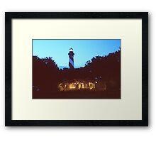 St Augustine Lighthouse Framed Print