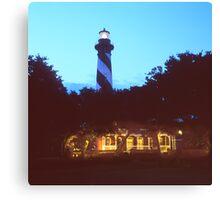 St Augustine Lighthouse Canvas Print