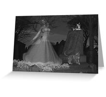 At the stroke of midnight .. ghosts Greeting Card