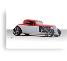 1933 Ford 3 Window Coupe 'Studio' 1 Metal Print