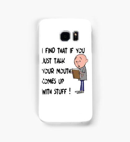 Karl Pilkington - Quote Samsung Galaxy Case/Skin