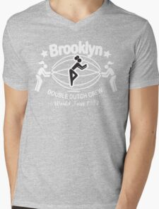 BROOKLYN DOUBLE DUTCH CREW**WORLD TOUR 1994 Mens V-Neck T-Shirt