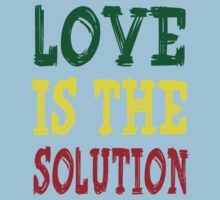 LOVE IS THE SOLUTION Kids Tee