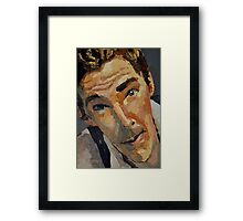 Benedict - Cumberbatch  Framed Print