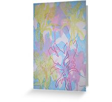 Lilies Lost and Found Greeting Card