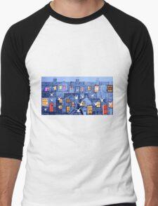 Suburban Terrace Men's Baseball ¾ T-Shirt
