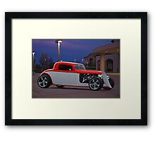 1933 Ford 3 Window Coupe 1 Framed Print