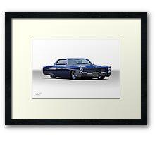 1965 Cadillac Coupe DeVille Custom 'Studio' 1 Framed Print