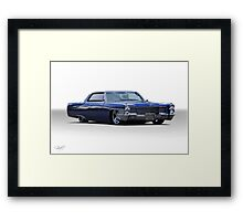 1965 Cadillac Coupe DeVille Custom 'Studio' 1 Framed Print