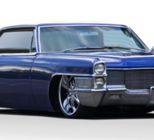 1965 Cadillac Coupe DeVille Custom 'Studio' 1 Sticker