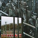 Deportation memorial by heinrich