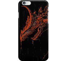 Smaug (blood red ) iPhone Case/Skin