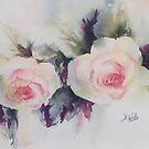 Rose by Bev  Wells