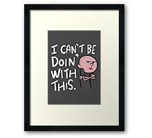 Karl Pilkington - Quote Framed Print