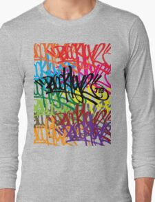 BROOKLYN 718 TAGGED UP Long Sleeve T-Shirt
