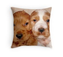 Brother & Sister Throw Pillow
