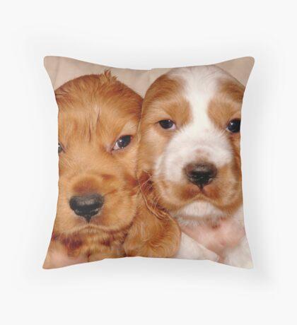 Brother & Sister Throw Pillow