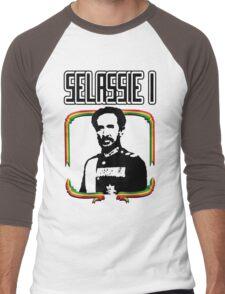 Selassie I Men's Baseball ¾ T-Shirt