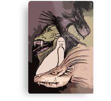 Mother of Dragons *2 Metal Print