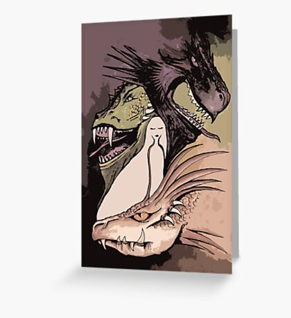 Mother of Dragons *2 Greeting Card