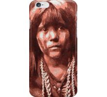 Mosa, Mohave Indian Boy 1903 iPhone Case/Skin