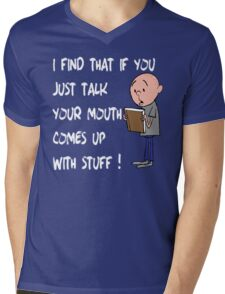 Karl Pilkington - Quote Mens V-Neck T-Shirt