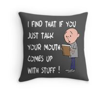 Karl Pilkington - Quote Throw Pillow