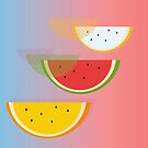 Watermelon by drunkonwater