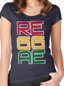 REGGAE Women's Fitted Scoop T-Shirt