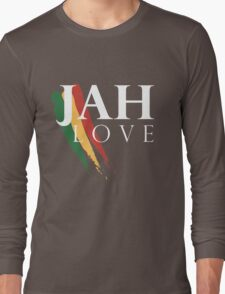 Jah Love ( WHITE ) Long Sleeve T-Shirt